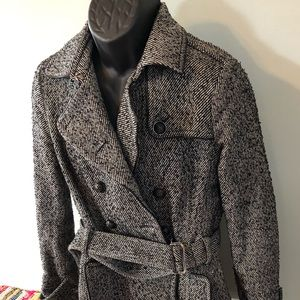 Banana Republic Jackets & Coats - Banana Republic Pea Coat Trench Jacket Rain Snow